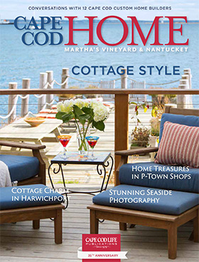 Cape Cod Home Early Summer featuring Casabella